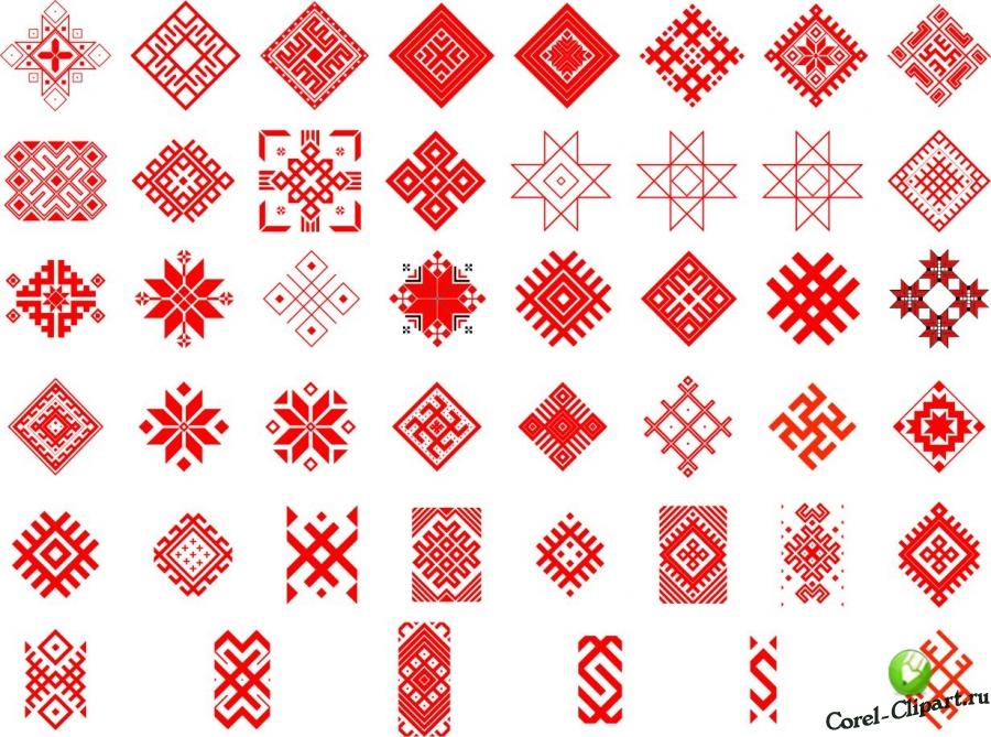 векторные буквы славянский стиль для coreldraw