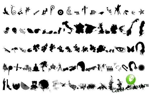 Белые иконки для сайта на прозрачном фоне - 2e989