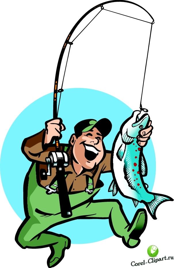 Как нарисовать любителя рыболова